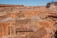 Grand Falls Arizona Landscape Stock Photos
