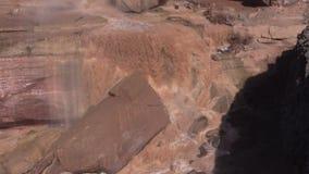 Grand Falls Arizona Zoom In stock video