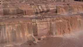Grand Falls Arizona Zoom Out stock footage