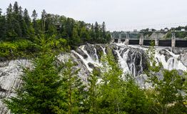 Grand Falls from the Dam royalty free stock images