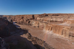 Grand Falls Little Colorado River Arizona Stock Image