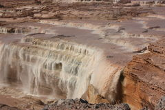 Grand Falls Northern Arizona Royalty Free Stock Photography