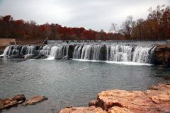 Grand Falls water fall, Joplin, MO Royalty Free Stock Image
