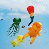 Grand festival de cerf-volant Image libre de droits