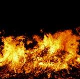 Grand feu Image libre de droits