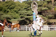 Grand Final of 70th Argentina Pato Open. Stock Image