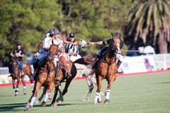 Grand Final of 70th Argentina Pato Open. Stock Photo