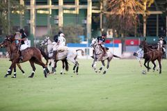 Grand Final of 70th Argentina Pato Open. Stock Photos