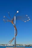 Grand Finale -Jennifer Cannon. SAN DIEGO, CALIFORNIA - NOVEMBER 11: Urban Trees 7 Collection - Port of San Diego Public Art Program on November 11, 2010 in San Stock Photo