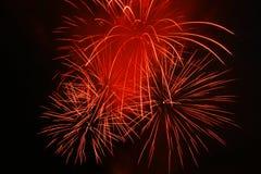 Grand Fireworks Stock Photo