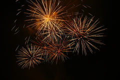 Grand Fireworks Royalty Free Stock Images