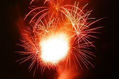 Grand Fireworks Royalty Free Stock Photography