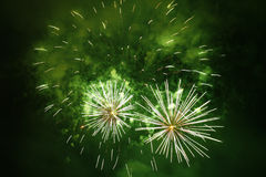 Grand Fireworks Stock Photography