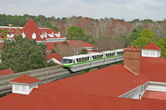 Grand Floridian Monorail Royalty Free Stock Photos
