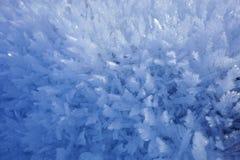 Grand fond de cristaux de neige Photos libres de droits