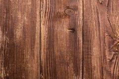 Grand fond en bois de texture de mur de planche de Brown photo stock