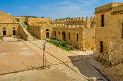 In Grand Fort of El Kef Royalty Free Stock Photos