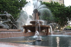 Grand fountain Royalty Free Stock Image