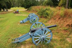 Grand French Battery Royalty Free Stock Images