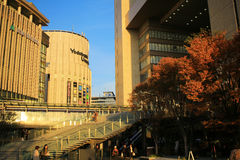 Grand Front Osaka is a complex located in Umeda, Osaka. Royalty Free Stock Images
