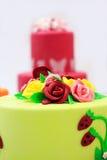 Grand gâteau image stock