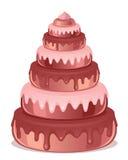 Grand gâteau illustration stock