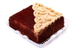 Grand gâteau de chocolat Image libre de droits