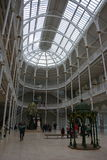 The Grand Gallery of the National Museum of scotland Stock Photography