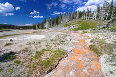 Grand Geyser Yellowstone National Park Royalty Free Stock Photos