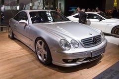 Grand ` grand de luxe d'édition de F1 Limited de ` du CL 55 AMG de Mercedes-Benz de voiture de voiture de tourisme, C215, 2001 Images libres de droits
