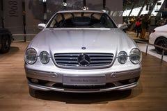 Grand ` grand de luxe d'édition de F1 Limited de ` du CL 55 AMG de Mercedes-Benz de voiture de voiture de tourisme, C215, 2001 Images stock
