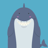 Grand gros requin mignon Photo stock