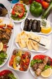 Grand groupe de nourritures Photo libre de droits