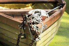 Grand héron chez le Lac Balaton Image stock