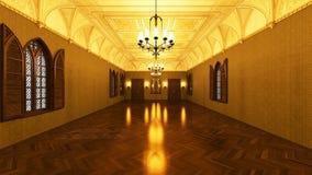 Grand hall Stock Photography