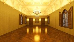 Grand hall Stock Photo