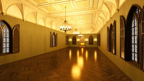 Grand hall Stock Images