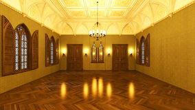Grand hall Royalty Free Stock Images