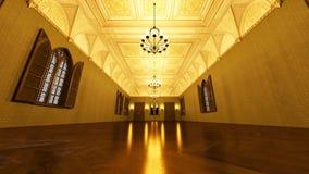 Grand hall Royalty Free Stock Image