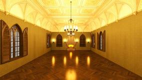 Grand hall Royalty Free Stock Photos