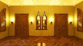 Grand hall Stock Image