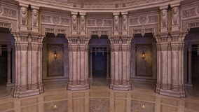 Grand hall. 3D CG rendering of grand hall Royalty Free Stock Images