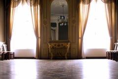 Grand hall intérieur riche de grille photo stock