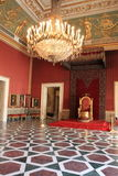Grand hall of Napoli palace Stock Photography