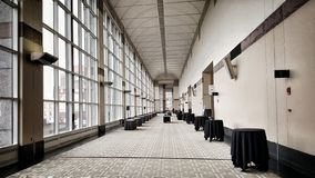 Grand  hallway Stock Photo