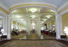 Grand Hallway at Lodge Stock Photo
