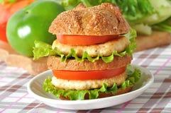 Grand hamburger Images stock