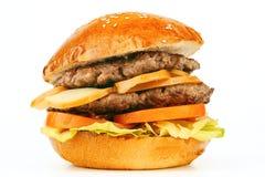 Grand hamburger Image libre de droits