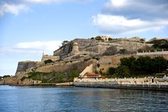 Grand Harbor Bastions Stock Images