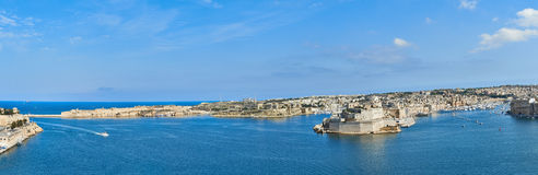Grand Harbor In Malta Stock Image